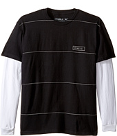 O'Neill Kids - Striped Twofer Long Sleeve Shirt (Big Kids)