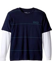 O'Neill Kids - Striped Twofer Long Sleeve Shirt (Big Kids)
