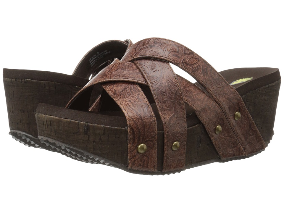 VOLATILE - Jumper (Brown) Women's Sandals