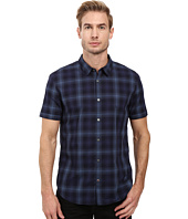 John Varvatos Star U.S.A. - Slim Fit Sport Shirt w/ Cuffed Short Sleeves W443S3B