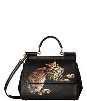 Dolce & Gabbana - Bengal Cat Printed Sicily Bag