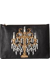 Dolce & Gabbana - Candleabra Embellished Zip Clutch