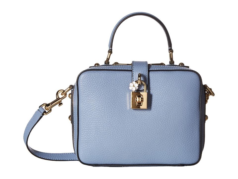 Dolce & Gabbana - Top Handle Handbag (Blue) Cross Body Handbags