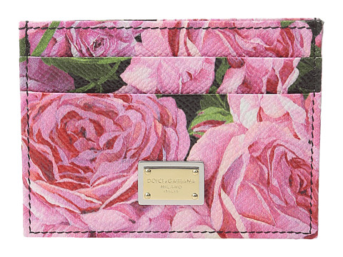 Dolce & Gabbana Floral Printed Card Case