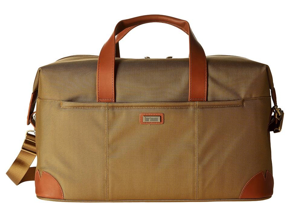 Hartmann Ratio Classic Deluxe Weekend Duffel (Safari) Duffel Bags