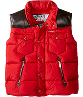 Dsquared2 Kids - Puffer Vest with Leather Detail (Big Kids)