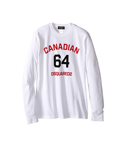Dsquared2 Kids Long Sleeve Canadian Tee (Big Kids)