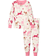Hatley Kids - Deer and Bunnies Pajama Set (Toddler/Little Kids/Big Kids)