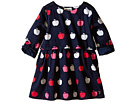 Nordic Apples Cotton Satteen 2 Layer Dress (Toddler/Little Kids/Big Kids)