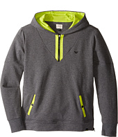 Armani Junior - Hoodie with Lime Detail (Toddler/Little Kids/Big Kids)