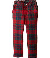 Oscar de la Renta Childrenswear - Holiday Plaid Wool Classic Slim Pants (Toddler/Little Kids/Big Kids)
