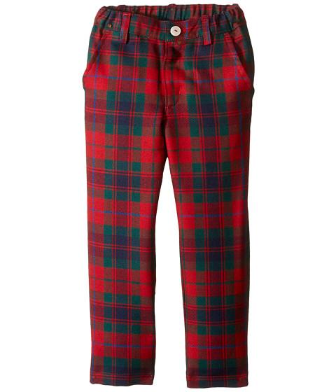 Oscar de la Renta Childrenswear Holiday Plaid Wool Classic Slim Pants (Toddler/Little Kids/Big Kids)