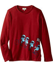 Paul Smith Junior - Astronauts on Bike Printed Tee Shirt (Toddler/Little Kids)