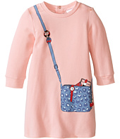 Little Marc Jacobs - Long Sleeve Essential Jersey Modal Dress (Infant)