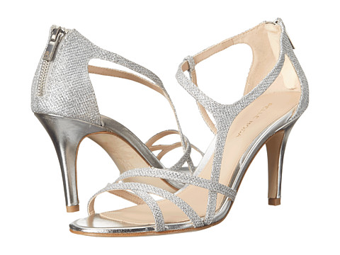 Pelle Moda Ruby - Silver Metallic Textile