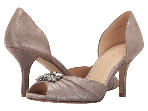 Pelle Moda Ilan - Taupe Shimmer Suede