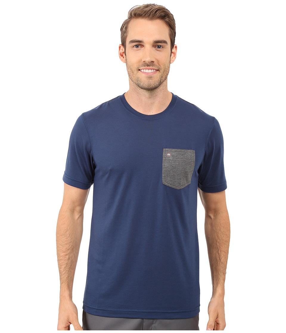TravisMathew Stellar Insignia Blue Mens Clothing