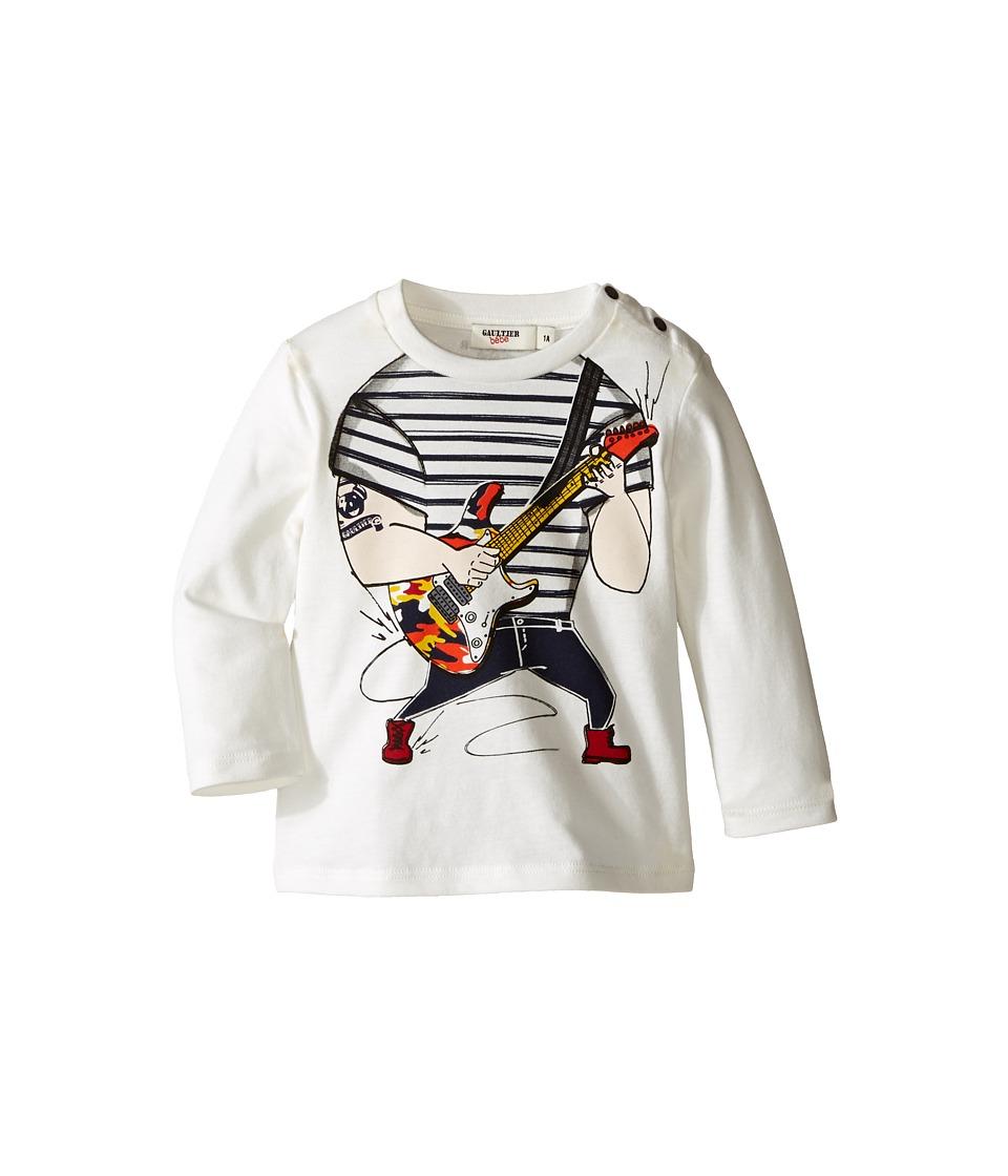 Junior Gaultier - Trompe L'oeil Guitarist Long Sleeves Tee Shirt
