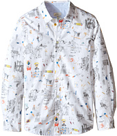 Paul Smith Junior - Printed Shirt with Street Signs (Big Kids)