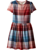 Paul Smith Junior - Pink Blue Plaid Dress (Big Kids)
