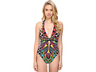 Africana Cross Back One-Piece