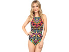 Africana High Neck One-Piece