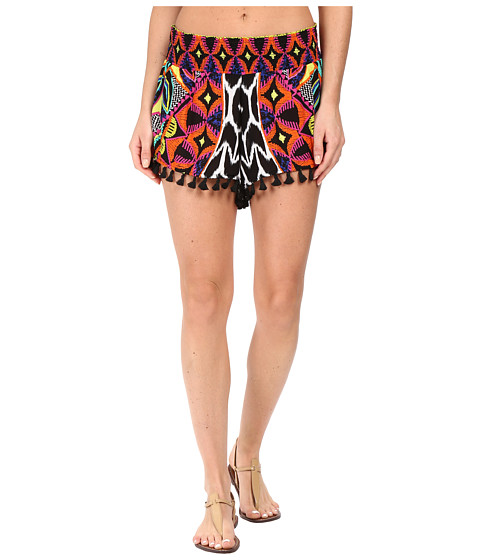 Trina Turk Africana Shorts Cover-Up - Multi