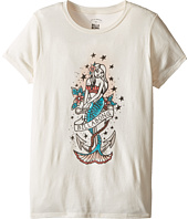 Billabong Kids - Mermaid Tattoo Tee (Little Kids/Big Kids)