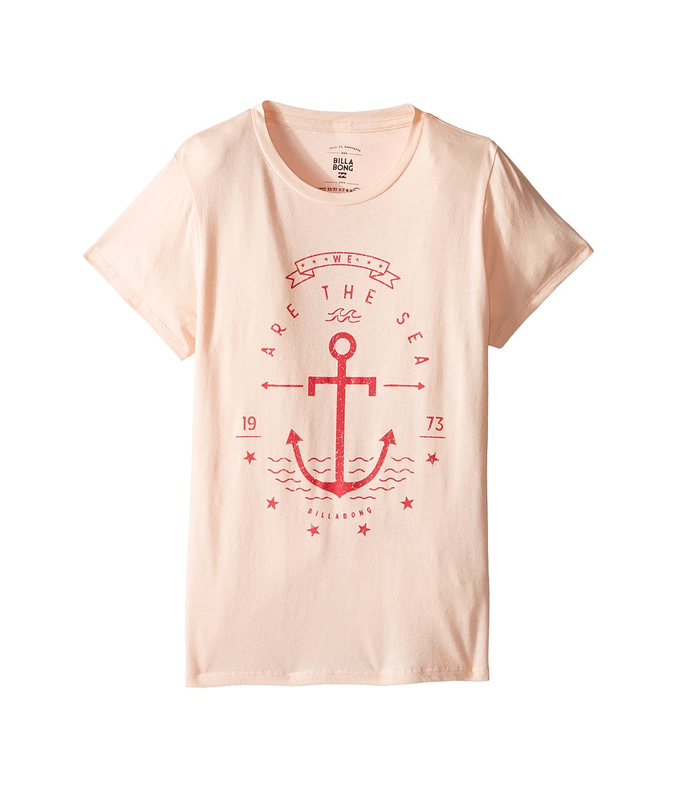 Billabong Kids We Are the Sea Tee (Little Kids/Big Kids) (Tanline) Girl