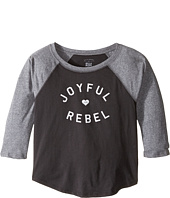 Billabong Kids - Joyful Rebel Raglan (Little Kids/Big Kids)