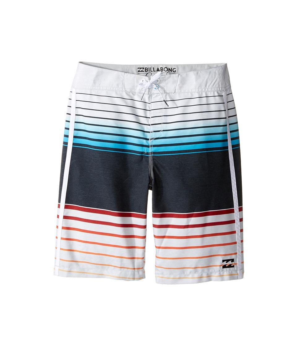 Image of Billabong Kids - All Day Faded Boardshorts (Big Kids) (Sand) Boy's Swimwear