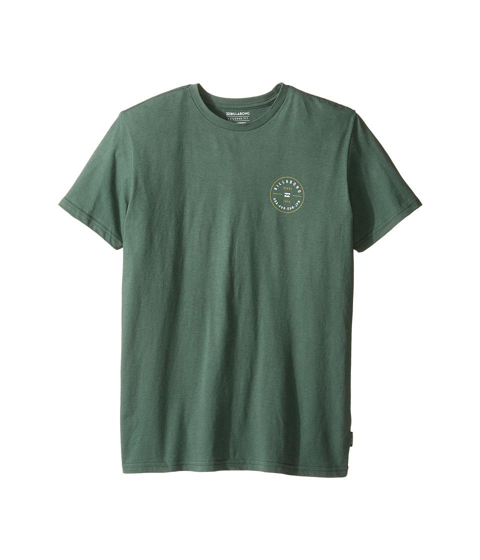 Billabong Kids Rotor T-Shirt (Big Kids) (Forest) Boy