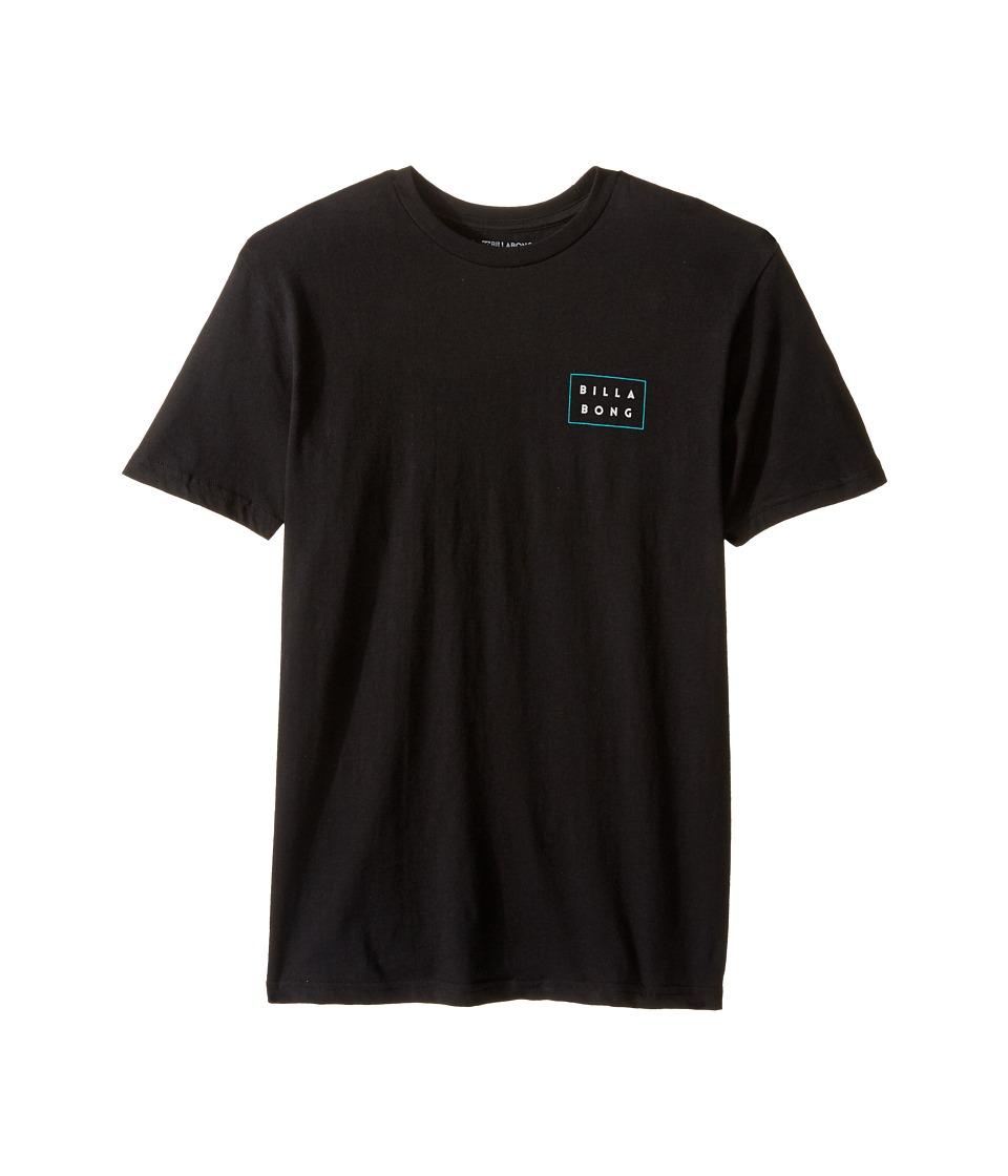 Billabong Kids Die Cut T-Shirt (Big Kids) (Black) Boy