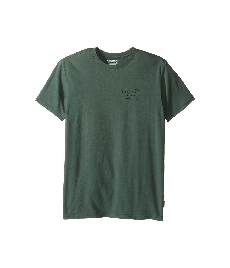 Billabong Kids Die Cut T-Shirt (Big Kids) (Forest) Boy