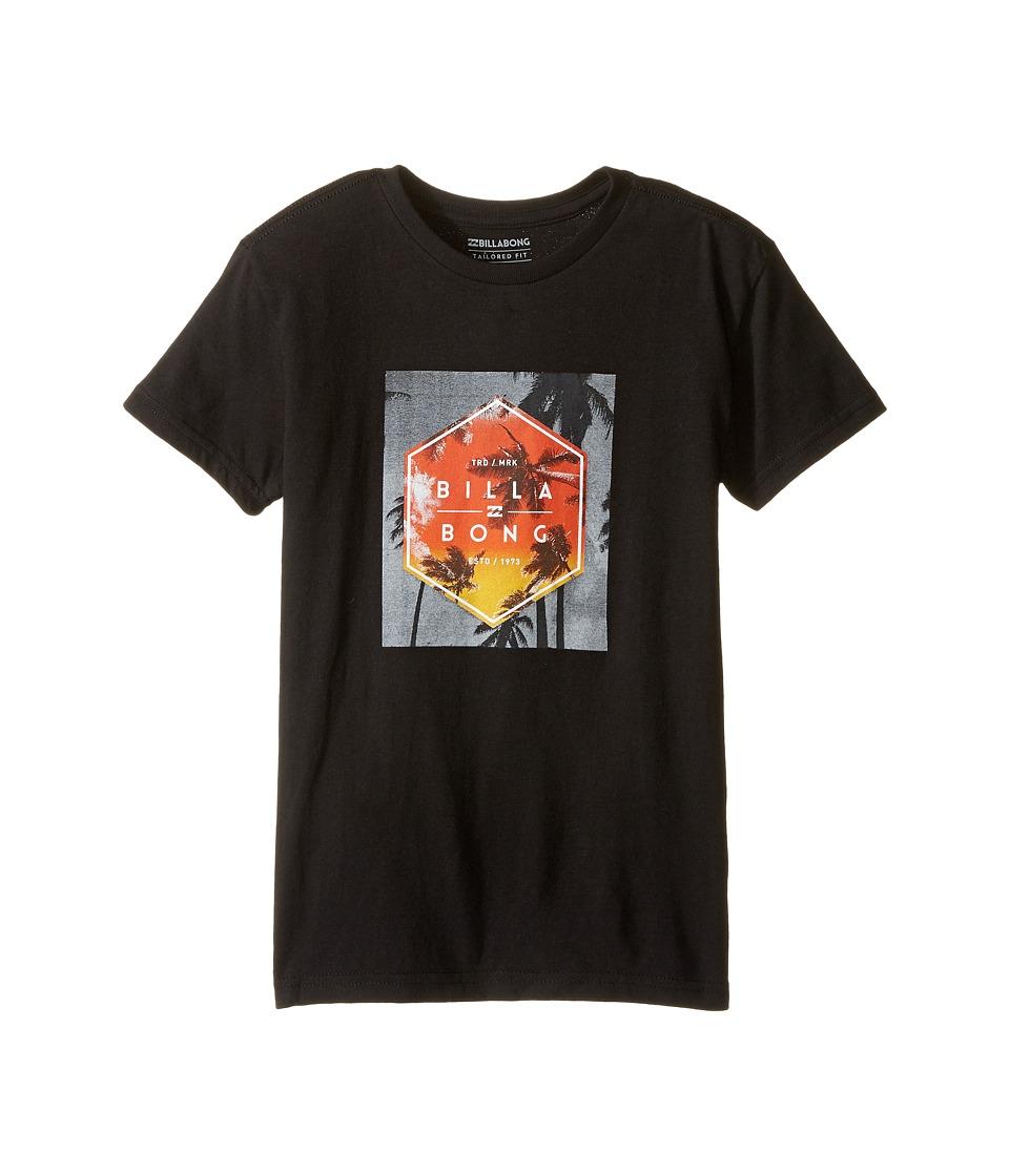 Billabong Kids Upward T-Shirt (Toddler/Little Kids) (Black) Boy