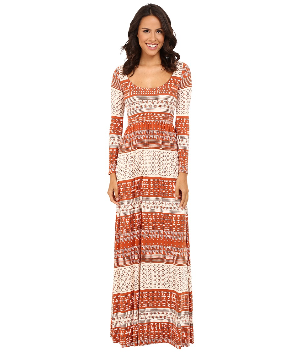 Rachel Pally Leonardo Dress Print (Copper Block Print) Women