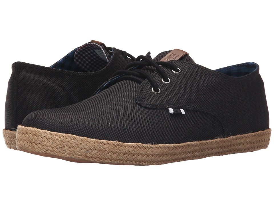 Ben Sherman Jenson Lace-Up (Black Linen) Men