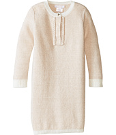 Chloe Kids - Lurex and Knitted Dress w/ Braids Details (Toddler/Little Kids)