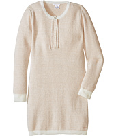 Chloe Kids - Lurex and Knitted Dress w/ Braids Details (Little Kids/Big Kids)