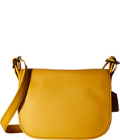 COACH - Gloveton Leather Saddle Bag