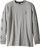 Volcom Kids - Deadly Stones Long Sleeve Tee (Big Kids)