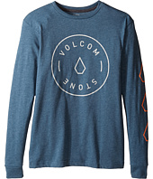 Volcom Kids - Simple Long Sleeve Tee (Big Kids)