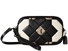 Exotic Canyon Quilt Crossbody Clutch
