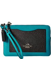COACH - Color Block Corner Zip Bag