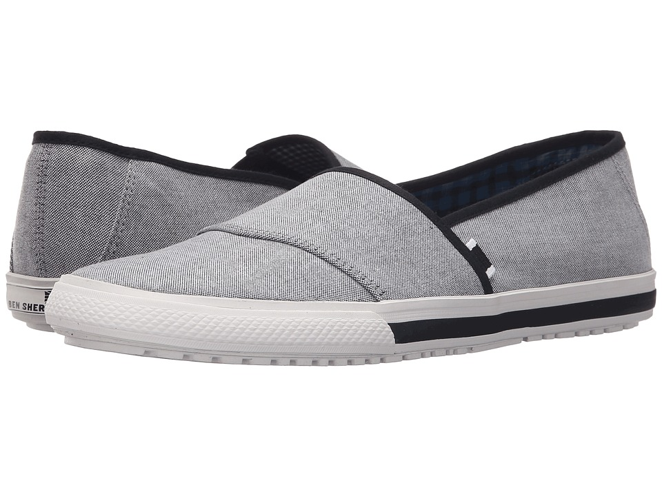 Ben Sherman Connall Sport Slide Black Chambray Mens Shoes