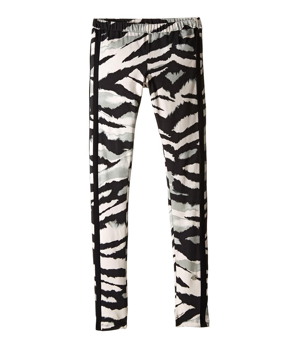 Roberto Cavalli Kids - Tiger Stripe Print Leggings
