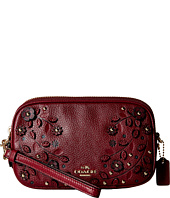 COACH - Willow Floral Applique Crossbody Clutch
