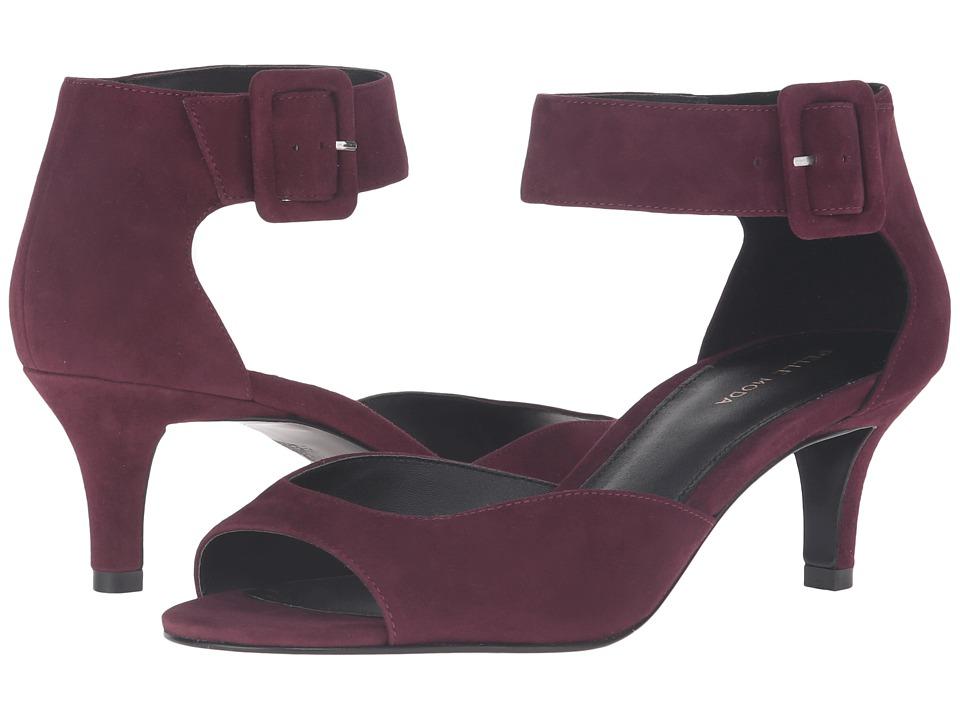 Pelle Moda Berlin (Dark Cherry Suede) High Heels
