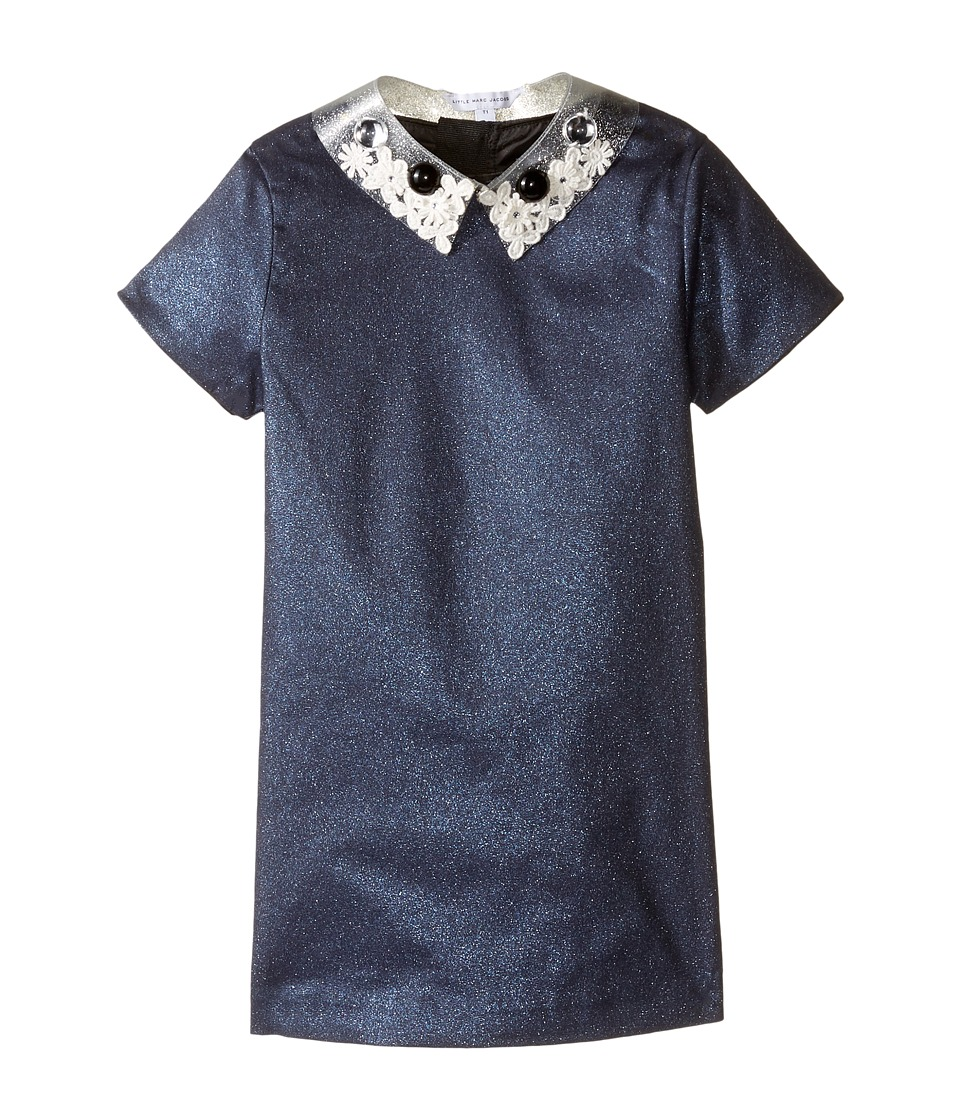 Little Marc Jacobs - Glittered Dress Fancy Cabochons Removable Collar