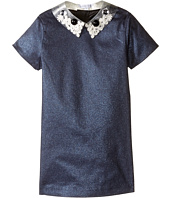 Little Marc Jacobs - Glittered Dress Fancy Cabochons Removable Collar (Toddler/Little Kids)